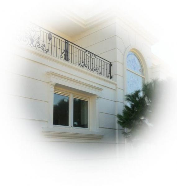 Фасадный декор № 1