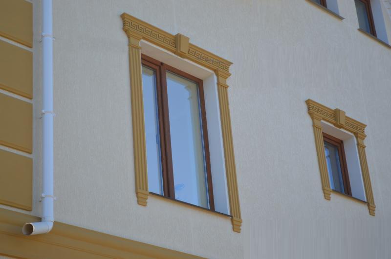 Как сделать окно из пенопласта